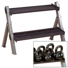 Body-Solid Dual Dumbbell & Kettlebell Rack (GDKR100)